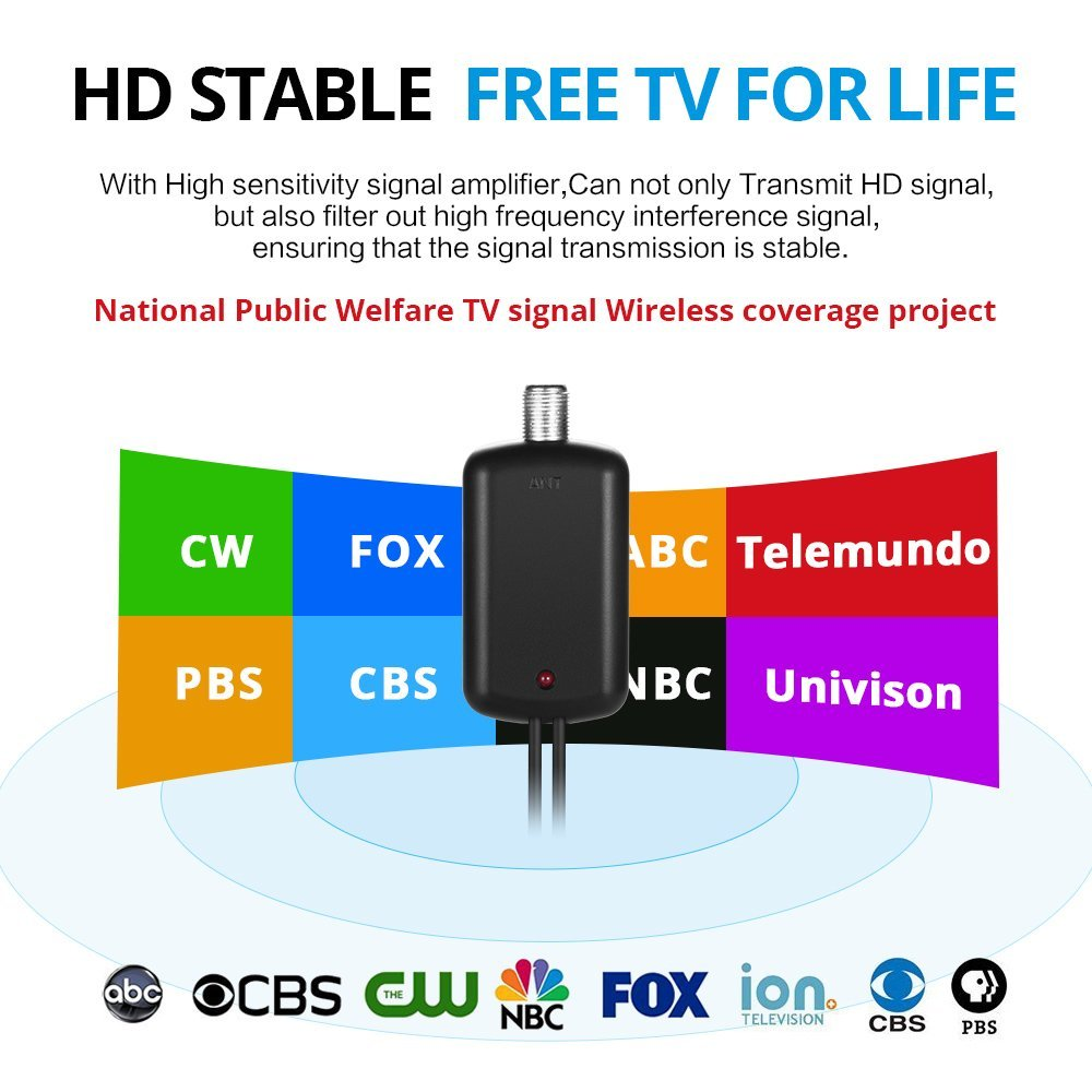 Indoor HDTV Free Cable Antenna 2