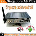 Ship On 6 Feb! A8 plus android box iptv singapore+starhub cable tv combo with 300+ chnl quad core(Kodi 4K H.265)on sport channel