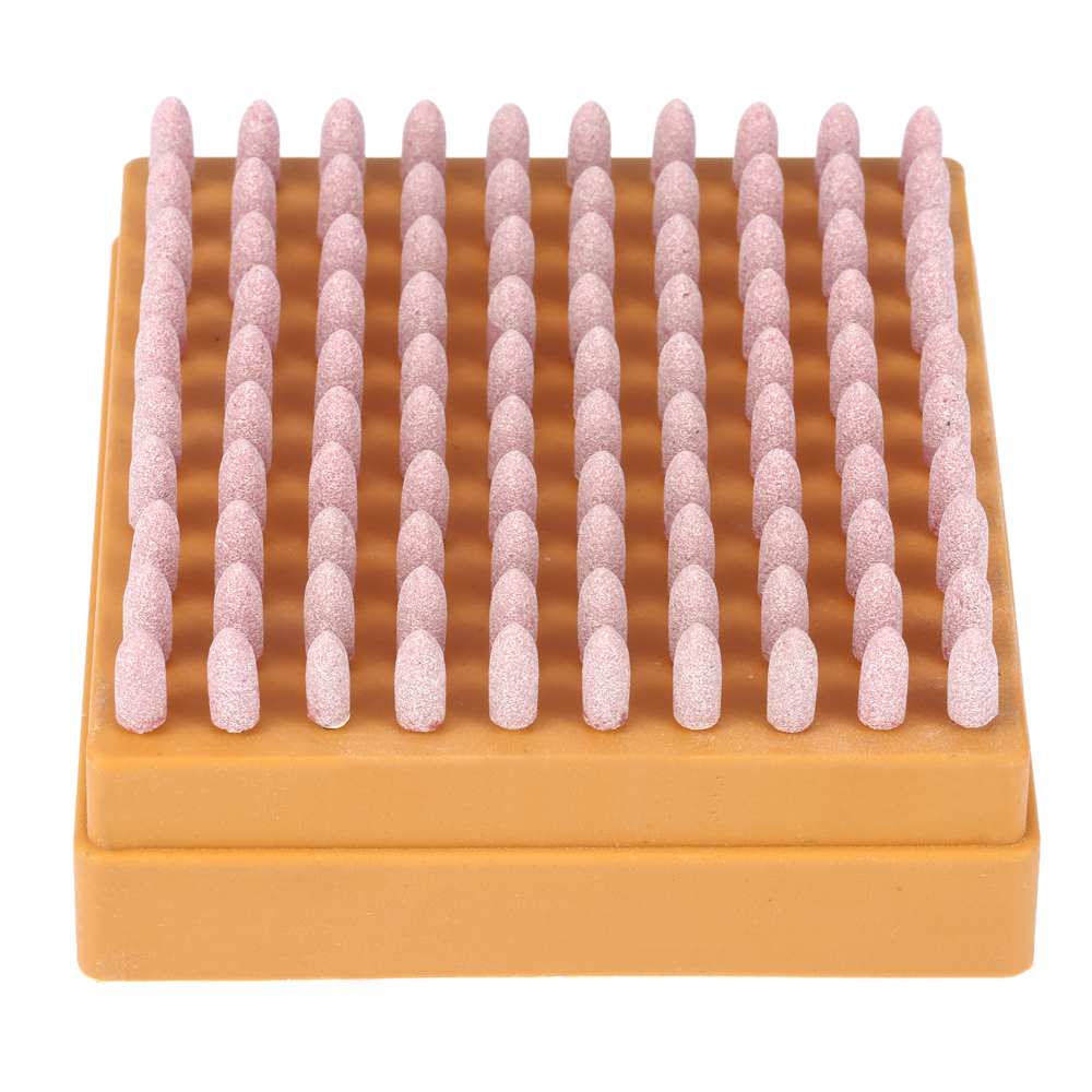 100pcs Abrasive Stone Grinding Head Points Polishing Wheel Tool Kit For Dremel Rotary Tools Electric Dremel Grinding Accessories mx demel high quality 17pcs 1 2 felt polishing wheels dremel accessories fits for dremel rotary tools dremel tools small