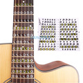 Acoustic Electric Guitar Fretboard Note Music Sticker/ Stikers For Sale, Decal Neck Fret Stiker On Guitarra
