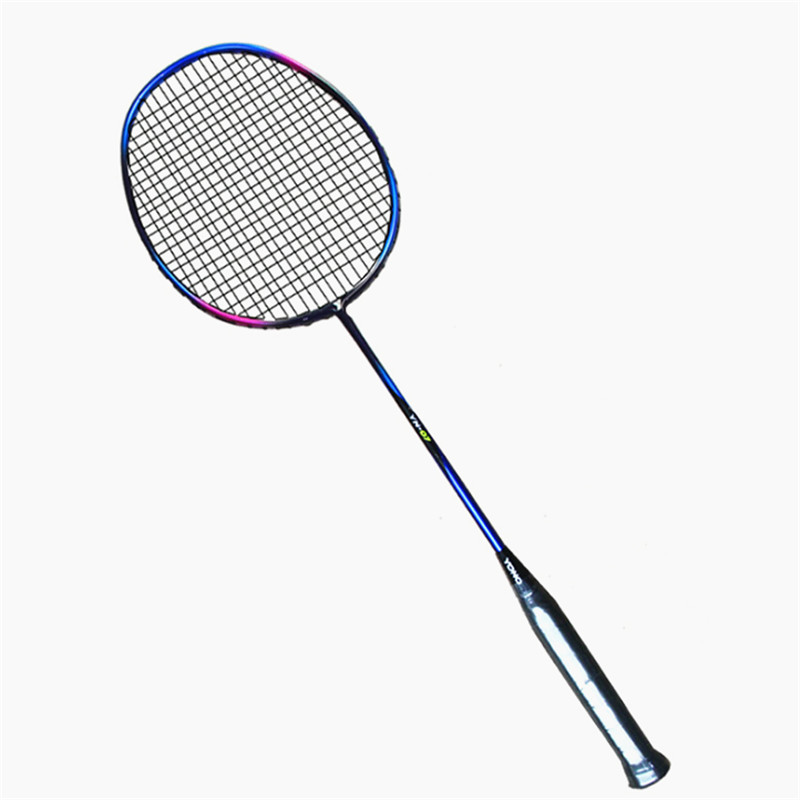 Ultralight 95G Badminton Racket Professional Carbon Badminton Racquet 22 26 LBS Outdoor Sports Adult Shuttlecock Racquette