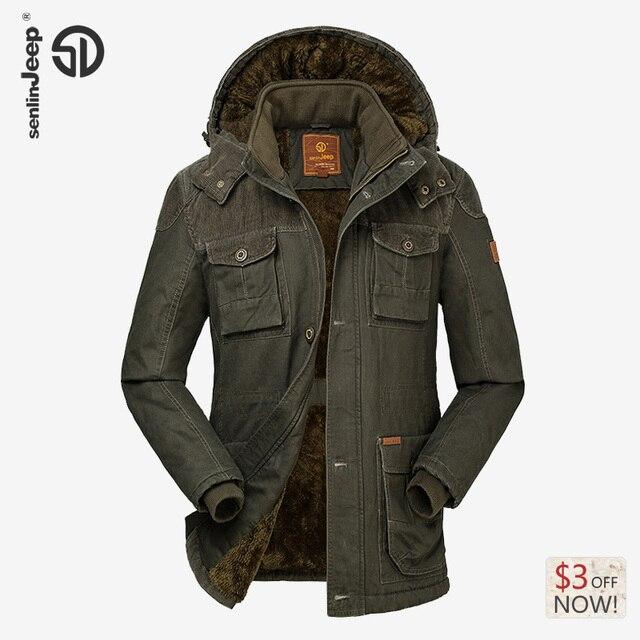 Winterjacke Beiläufige Mit Marke 2016 Battlefield Warm 0männer Lange Fleece Us120 Geschäfts Halten Mantel Neue Samt Männliche Dicke Outwear Kapuze CeWrBQdxoE