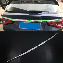 Car Accessories Exterior Decoration ABS Chrome Rear Tail Trunk Streamer Lid Molding Cover Trim For BMW X3 2018 недорго, оригинальная цена