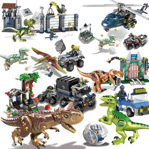 AUSINI World Jurassic Sets Toys Blocks Building Bricks