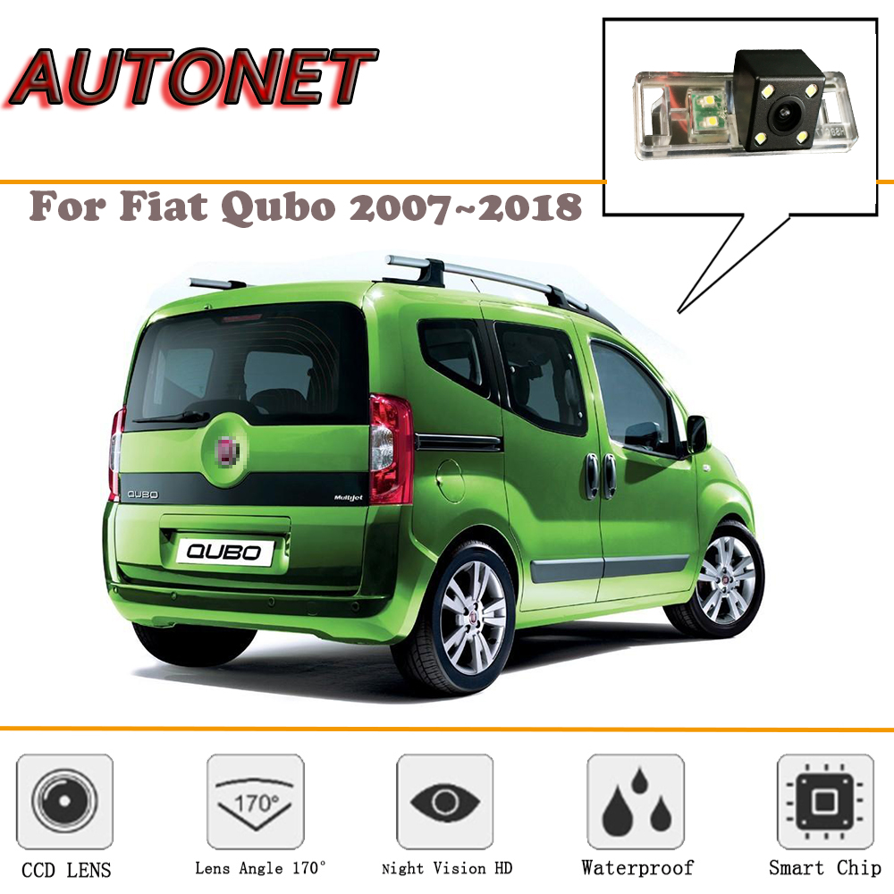 AUTONET Rear View Camera For Fiat Fiorino For Fiat Qubo MK3 2007~2018/Reverse Camera/Backup Camera/license Plate Camera