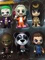 6 pcs/1 lote do Esquadrão Suicida Harley Quinn O Coringa Panda Man 10 cm Figuras de Ação #1936 Crianças Brinquedo de Presente de Aniversário Frete Grátis