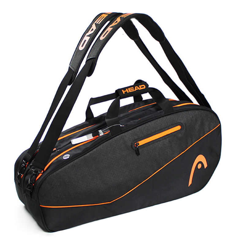 5f7902564d9 Head Brand raquete de tenis backup New BackPack Multifuntional tennis  badminton Backpack For 3-6