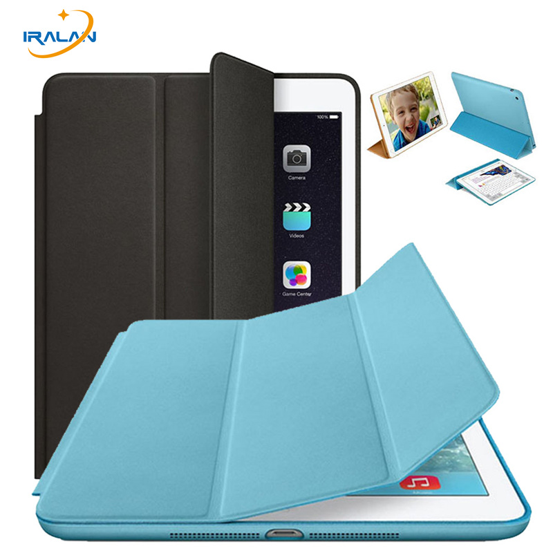 Official Original 1:1 Pu Leather Stand Case for Apple IPad Air 1/IPad 5 9.7 inch Capa Fundas Ultra Slim Smart Cover+film+stylus smart cover case for ipad kaku original official leather ultra thin stand cases for apple ipad air 1 2with wake up free shipping