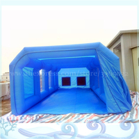 8*4*3 meters Car Repair Tent, Inflatable Car Paint Booth , Giant Inflatable Spray Booth For Car