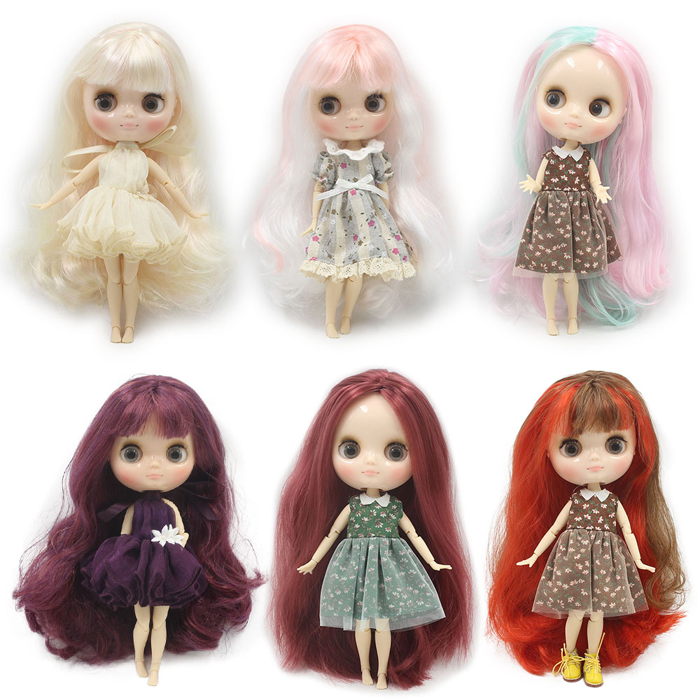 middle blyth doll 20cm for joint body with hand gesture 1 8 bjd fashion dolls factory