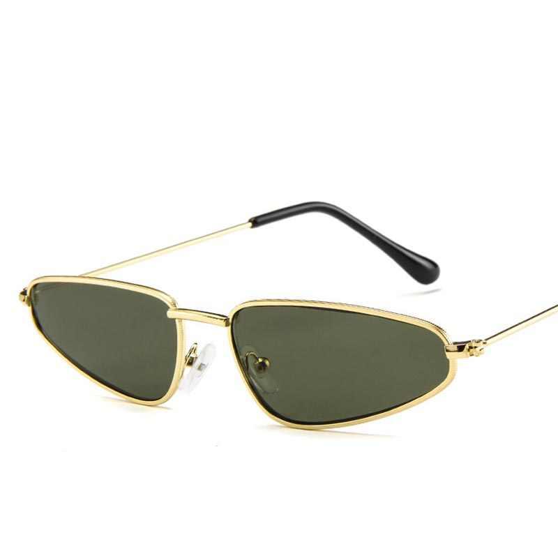 0fba8052c86c7 ... 2018 Small Frame Cat Eye Sunglasses Women Trendy Catwalk Sun glasses  Famle Drop Shaped Ocean Retro ...