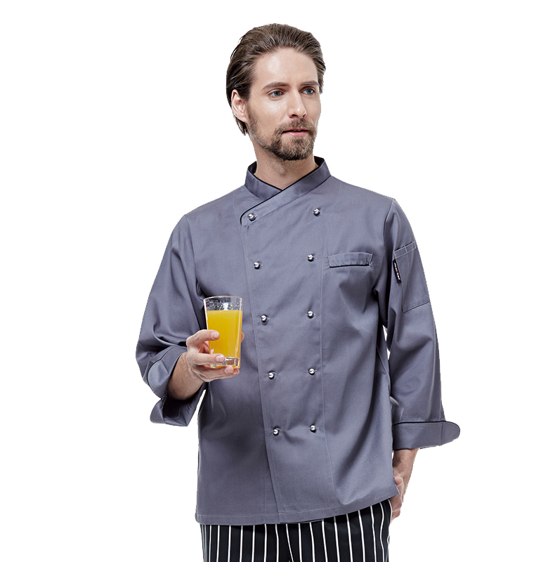 Top Quality Cook Suit Short Long Sleeve Restaurant Cook Chef Uniform Double-breasted Hotel Kitchen Cook Work Wear Chef Clothes