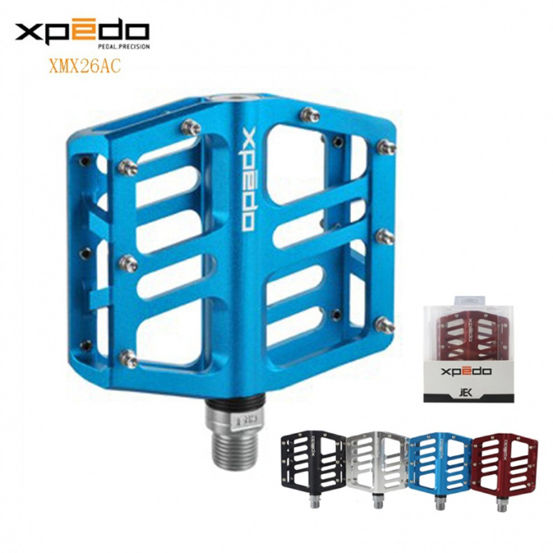 2016 Wellgo XMX26AC Higher Brand Xpedo Pedal Bicycle Pedal Cycling Pedals for Mountain Bike Black/Silver/Red/Blue colors