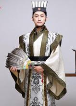 лучшая цена New Chinese ancient clothing costume film television performance wear the Three Kingdoms period minister Hanfu male