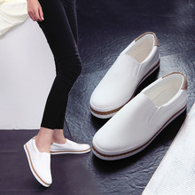 Explosion small white shoes spring 2017 new British style Outdoor comfort walking shoes flat Loafers women sport shoes zapatos