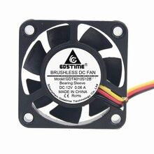 GDT 3pin 40mm axial fan 40x40x10  dc 12v