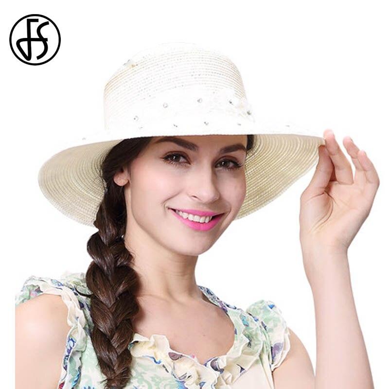 Дамы в белом платье и белой шляпе