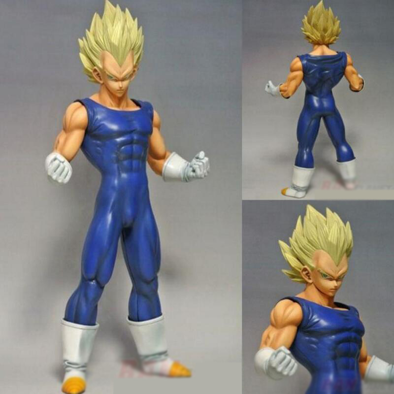 MSP Original box Dragon Ball Z Vegeta Action Figure 26cm Super Saiyan Vegeta Dragonball PVC Model Collection Kids Toys image