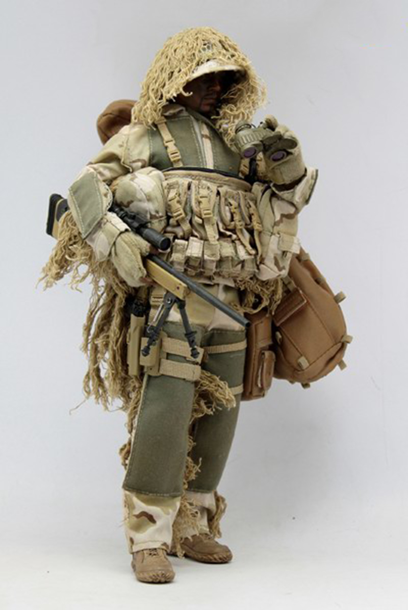 1/6 Ghillie Suit Sniper Suit Solider Model Clothes For 12in Action Figure 1/6 Ghillie Suit Sniper Suit Solider Model Clothes For 12in Action Figure