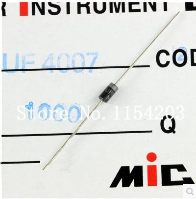 100 ШТ. UF4007 1000 DO-41 1A швидке відновлення діод випрямляча струму