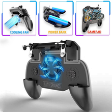 Mpow SR Gaming PUBG Controller Gamepad Mobile Trigger with 2000mAh Large Power Bank & Cooling Fan L1R1 Shooter Joystick Game Pad
