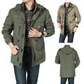 Spring Autumn Jacket Men Afs Jeep Brand Casual Winter Jacket Men Snow Jacket Waterproof Overcoats Hooded Windbreaker Men CF032