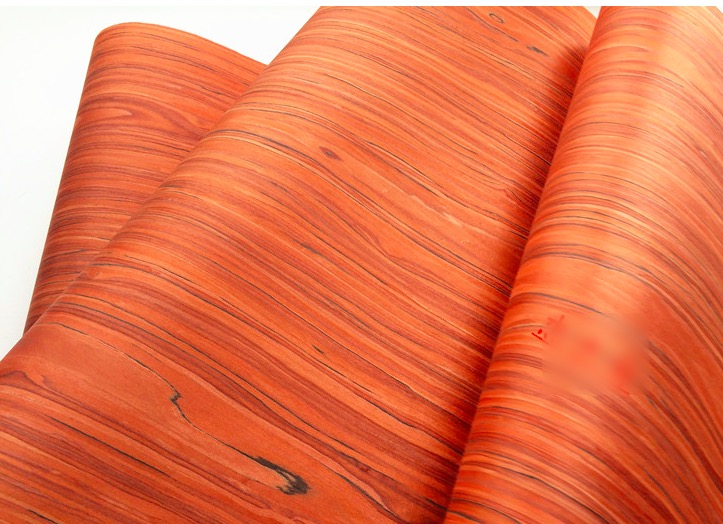 2Pieces/Lot L:2.5Meters Width:55cm Thickness:0.2mm  Technology Rosewood  Pattern Wood Veneer(back  Non Woven Fabric)