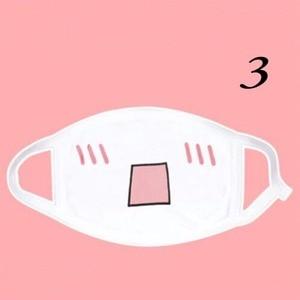 Image 4 - 1Pc Kawaii Anti Stofmasker Kpop Katoen Mond Masker Leuke Anime Cartoon Mond Moffel Gezichtsmasker Emotiction Masque Kpop maskers