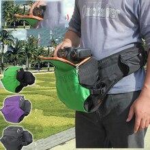 New Rain Cover Professional Photo Runner DSLR Waterproof Camera Bag Beltpack Waist Pack Waistpack for Canon Nikon Sony