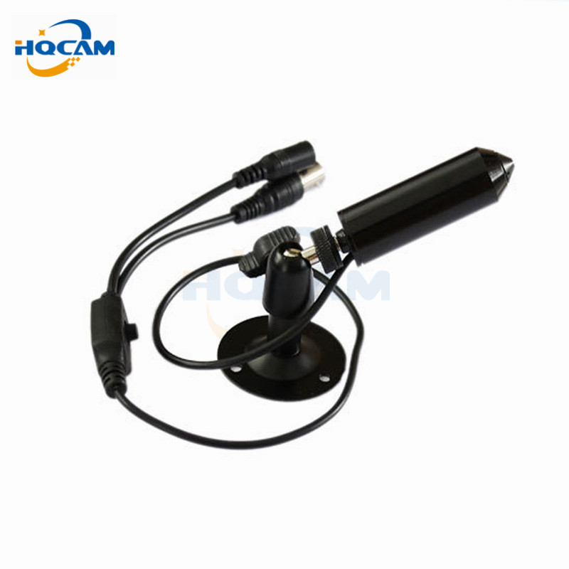 HQCAM Mini Bullet CAMERA 1/3 Sony CCD 420TVL Security CCTV mini Camera MINI CCD CAMERA With Bracket Color Black For 960h DVR mini bullet cvbs ccd camera 700tvl with headset mount for mobile surveillance security video 5v