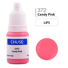 CHUSE Permanent Makeup Ink Lips Tattoo Ink Set Microblading Pigment Professional Micro Maquiagem Definitiva 10ML Candy Pink C372