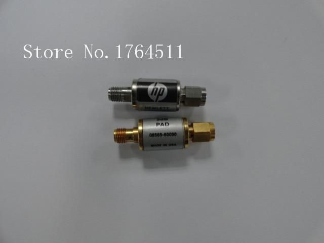 [BELLA] ORIGINAL 08565-60090 DC-12.4GHz 3dB 2W SMA Coaxial Fixed Attenuator