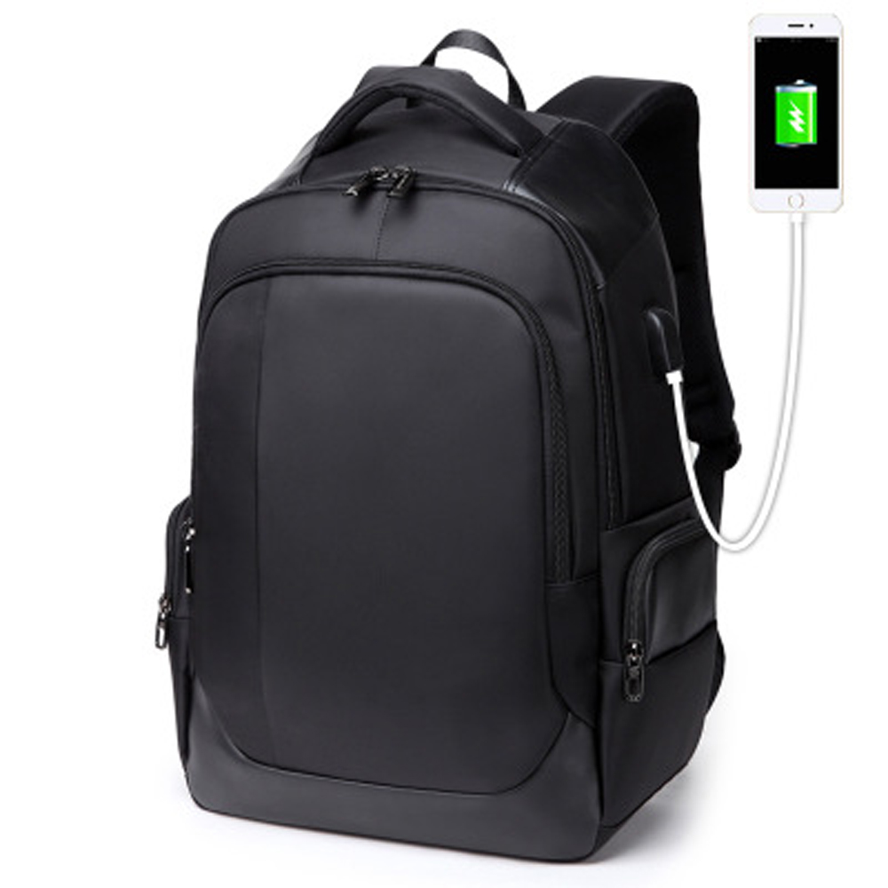 1517 Laptop Backpack External USB Charge Computer Backpacks Anti-theft Waterproof Bags for Men Women