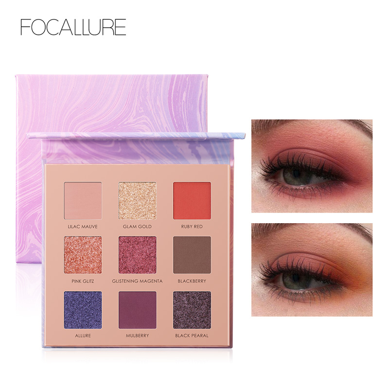 Beauty Essentials Focallure New Arrival Eye Shadow Glitter Matte Eyeshadow Makeup For Fashion And Hot Cosmetic