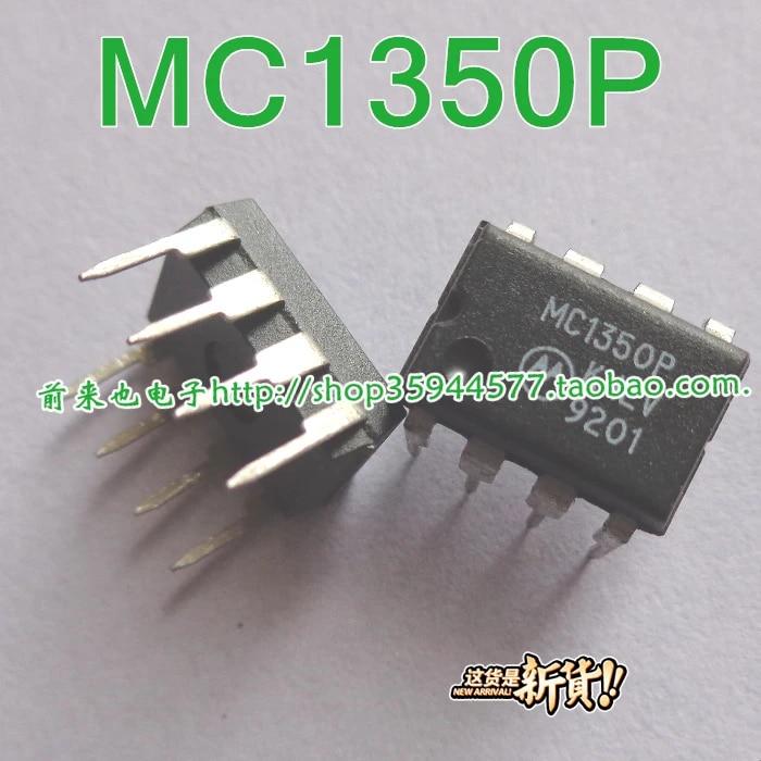 2PCS MC1350 MC1350P Monolithic IF Amplifier NEW  #K1995