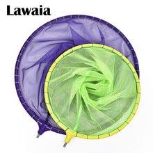 Lawaia Fishing Net Head Nano Pocket Colorful Catch Fish Super Light And Thin Eye Sports Deep Anti-Hanging Dip