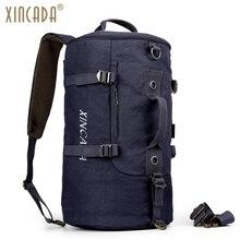 XINCADA Carry on Backpack Duffle Bag Weekend Bag Duffel Backpack Weekender Bag Canvas Backpacks Rucksack Men Travel Back Pack