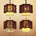 Китайские классические деревянные подвесные светильники для ресторанов и клубов meilanzhuju LU620 ZL475