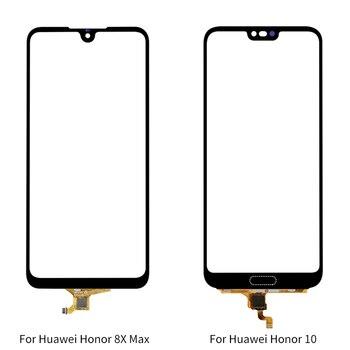 Переднее стекло сенсорный экран дигитайзер Запасные части сенсорная панель для huawei Honor 8X Max Honor 10 сенсорный экран