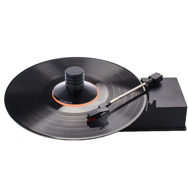 Lpビニールレコードプレーヤーバランス金属ディスクスタ重量クランプターンテーブルハイファイ