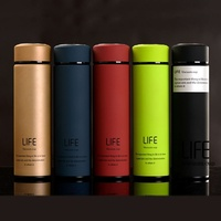 Insulation Cup Thermos Vacuum Commercial Bottle Coffee Travel Insulated Container Water Cup Double Layer 304 SS Gift Custom Cup