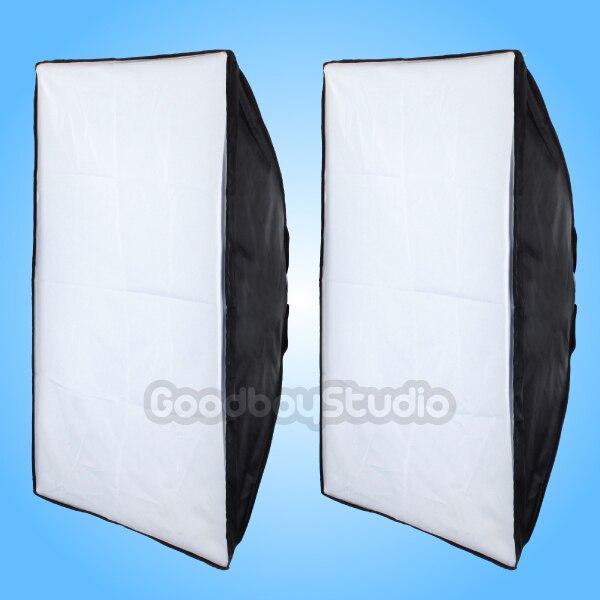 2PCS Godox 24 x 35 / 60 x 90cm Softbox Universal Mount Studio Photography Strobe Lighting