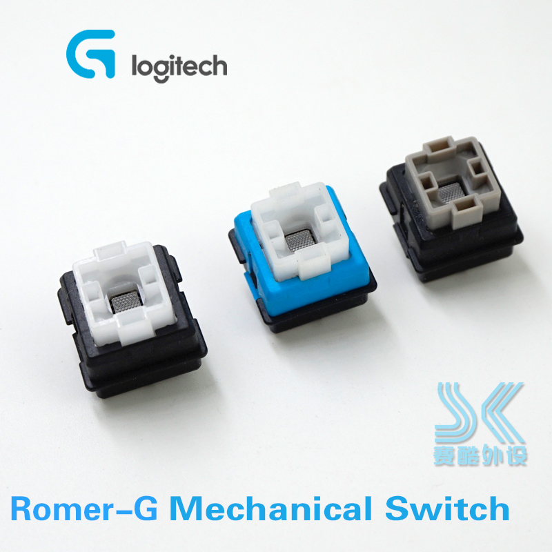 Original OMRON Romer-G Switch B3K For Logitech G910 G810 G310 G413 Pro K840 K845 Mechanical Keyboard Switch Blue Black Grey