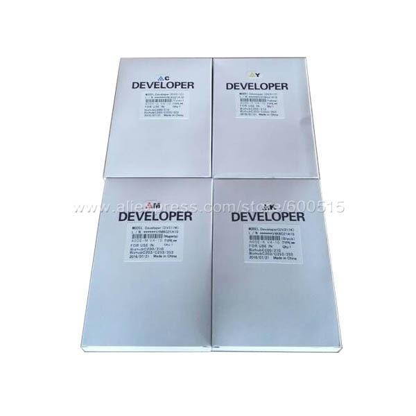 Compatible BK/C/M/Y Developer Powder for Canon C5035/5045/5051/5235/5245/5250/5255 printwindow fuser film sleeve for canon 5035 5045 5051 5235 5240 5250 5255 fm3 5950 film fuser belt