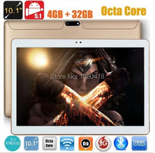 2017 Android tablet 10 inch Octa Core 3G 4G LTE Phone Call 4GB RAM 32GB ROM