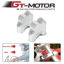 Elevador de manillar para coche, elevador de manillar de montaje, barra de arrastre, adaptador de extensión para BMW R1200GS LC 13 18 GS 1200 LC ADV R1250GS