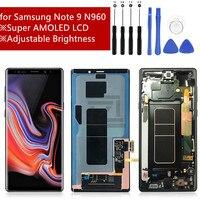 Для samsung Galaxy Note 9 ЖК Дисплей Сенсорный экран планшета Ассамблеи для samsung примечание 9 n960 N960F N960D N960DS ЖК-дисплей с рамкой