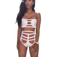Brand New High Waisted Bikini Bottoms Super Sexy Bandage Beach Wear Bikini Sport Swim Suit Women
