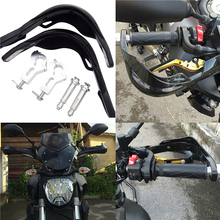 1 Pair Universal Motorcycle Handguards profession Handlebar Hand Guards For KTM Benelli Pitbike Suzuki Kawasaki yamaha BMW