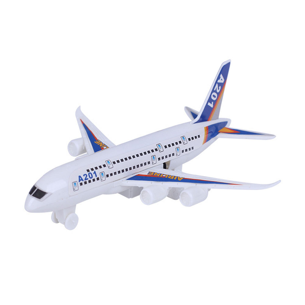 Multicolor Airplane Toy Inertial Aircraft Toy Cultivate Interest Collection Desk Pocket Cool Fashion